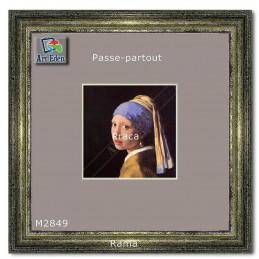 Karton Passe-Partout Moorman szary M2849 sample