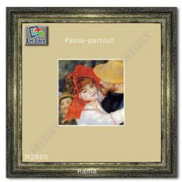 Karton Passe-Partout Moorman żółty M2860 sample