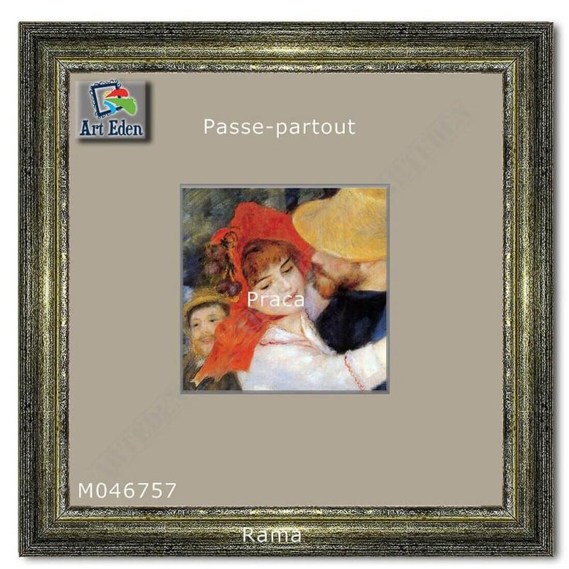Passe-Partout szary z szarym przekrojem M046757