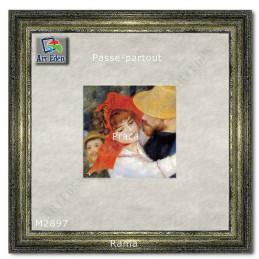 Karton Passe-Partout Moorman Srebrny M2897 sample