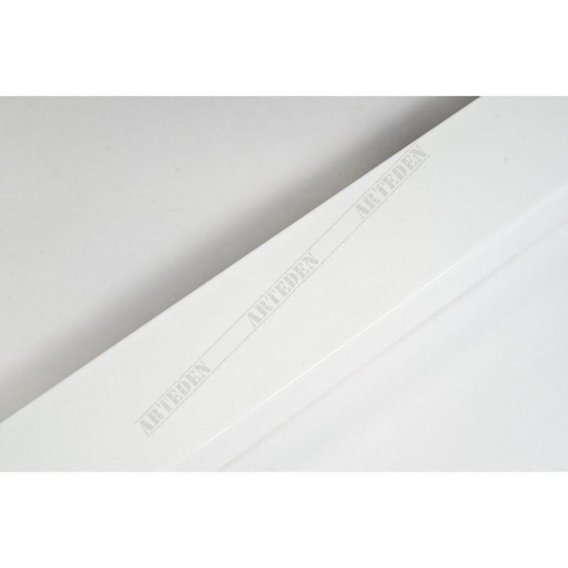 ABI366/30  40x20 - drewniana biała lak rama do obrazów i luster