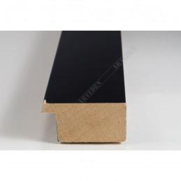 ABI366/31  40x20 - drewniana czarna lak rama do obrazów i luster sample1