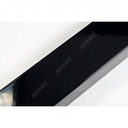 ABI366/31  40x20 - drewniana czarna lak rama do obrazów i luster