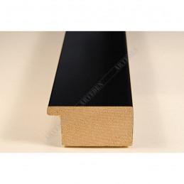 ABI366/41 40x20 - drewniana czarna mat rama do obrazów i luster sample1