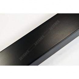 ABI366/41 40x20 - drewniana czarna mat rama do obrazów i luster