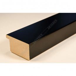 ABI366/41 40x20 - drewniana czarna mat rama do obrazów i luster sample