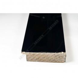 ABI370/31 72x20 - szeroka czarna lak rama do obrazów i luster sample1