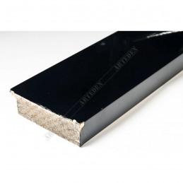 ABI370/31 72x20 - szeroka czarna lak rama do obrazów i luster sample