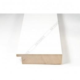 ABI370/40 72x20 - szeroka biała mat rama do obrazów i luster sample1