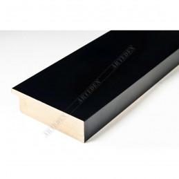 ABI370/41 72x20 - szeroka czarna mat rama do obrazów i luster sample