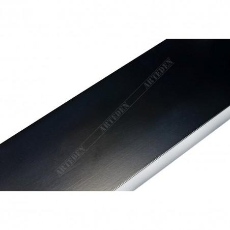 ABI370/41 72x20 - szeroka czarna matowa rama do obrazów i luster