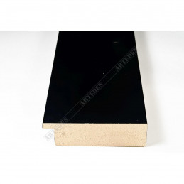 ABI370/41 72x20 - szeroka czarna mat rama do obrazów i luster sample1