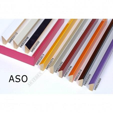 ASO040.33.048 15x34 - biała bianco lakierowana rama do zdjęć