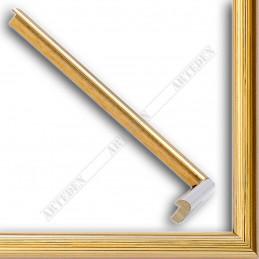 ASO049.21.031 14x11 - mała złota ramka do zdjęć i obrazków