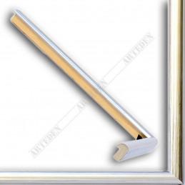 ASO049.21.044 14x11 - mała srebrna ramka do zdjęć i obrazków sample