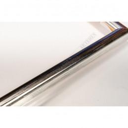 ASO049.21.044 14x11 - mała srebrna ramka do zdjęć i obrazków