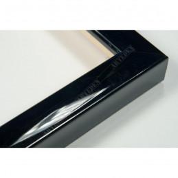 ASO127.31.045 14x15 - mała autore czarna lakowana ramka do zdjęć i obrazków sample1