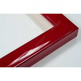 ASO127.31.046 14x15 - mała autore czerwona lakowana ramka do zdjęć i obrazków sample1