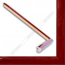 ASO127.31.046 14x15 - mała autore czerwona lakowana ramka do zdjęć i obrazków sample