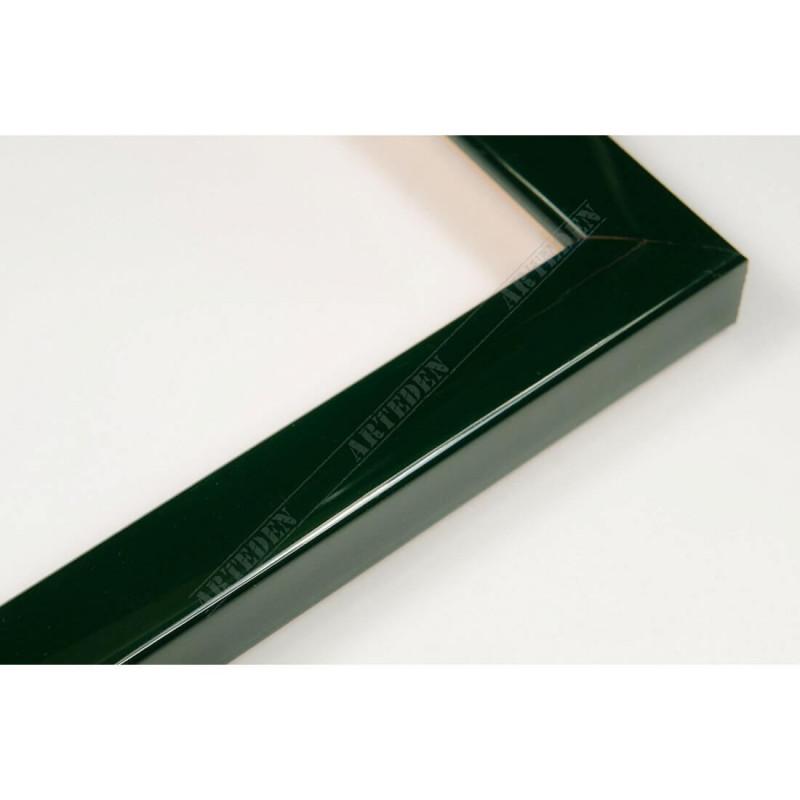 ASO127.31.047 14x15 - mała autore zielona lakowana ramka do zdjęć i obrazków