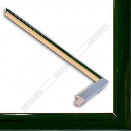 ASO127.31.047 14x15 - mała autore zielona lakowana ramka do zdjęć i obrazków sample