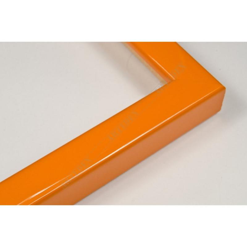 ASO127.33.010 14x15 - mała orange trandy lakowana ramka do zdjęć i obrazków