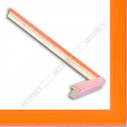ASO127.33.010 14x15 - mała orange trandy lakowana ramka do zdjęć i obrazków sample