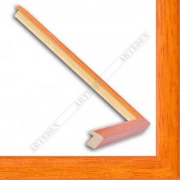 ASO127.33.011 14x15 - mała autore ocrowy ramka do zdjęć i obrazków sample