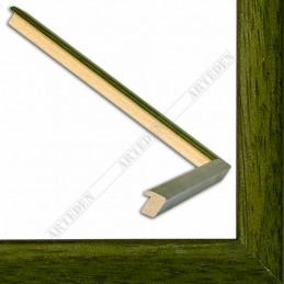 ASO127.33.038 14x15 - mała autore zielona ramka do zdjęć i obrazków sample