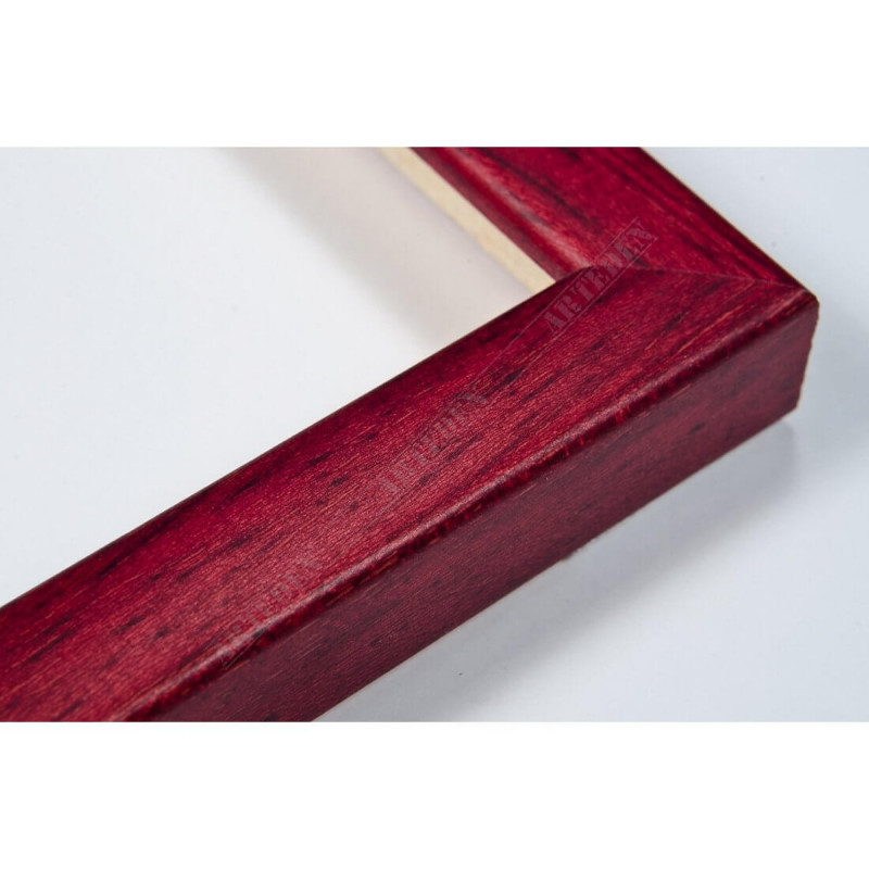 ASO127.33.039 14x15 - mała autore czerwona ramka do zdjęć i obrazków