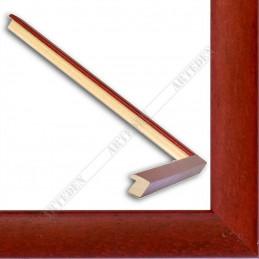ASO127.33.039 14x15 - mała autore czerwona ramka do zdjęć i obrazków sample