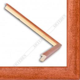 ASO127.33.041 14x15 - mała autore brązowa ramka do zdjęć i obrazków sample