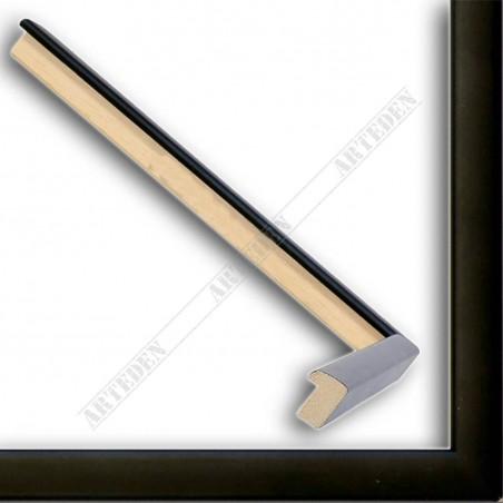 ASO127.33.500 14x15 - mała czarna matowa ramka do obrazków