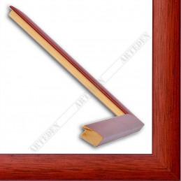ASO127.43.039 23x14 - wąska autore czerwona rama do zdjęć i luster sample