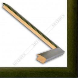 ASO127.43.038 13x14 - mała autore zielona ramka do zdjęć i obrazków sample