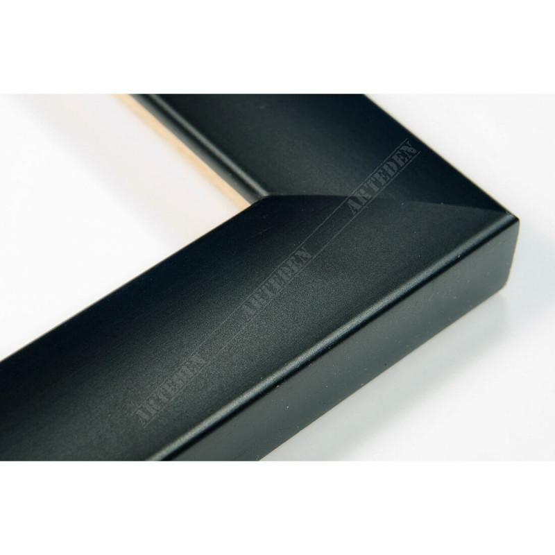 ASO127.43.000 23x14 - wąska autore czarna mat rama do zdjęć i luster