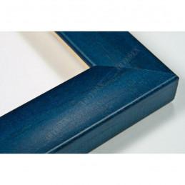 ASO127.43.098 23x14 - wąska autore niebieska rama do zdjęć i luster