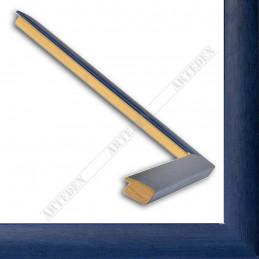 ASO127.43.098 23x14 - wąska autore niebieska rama do zdjęć i luster sample