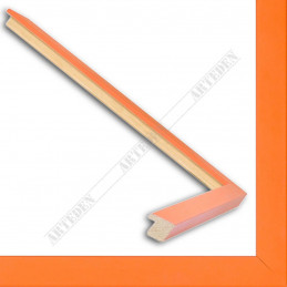 ASO148.31.221 13x15 - mała fusion pomarańczowa ramka do zdjęć i obrazków sample