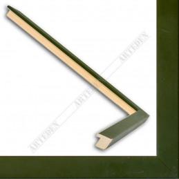 ASO148.31.227 13x15 - mała ciemno zielona ramka do zdjęć i obrazków sample