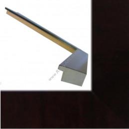ASO226.61.085 30x14 - wąska korzeń radica-czeczot mohoniowa rama do zdjęć i luster sample3