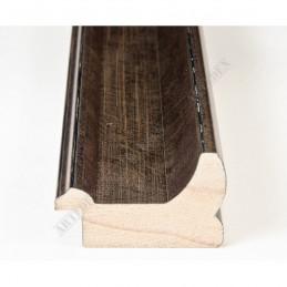 INK2557.773 40x30 - drewniana brąz metaliczna rama do obrazów i luster sample