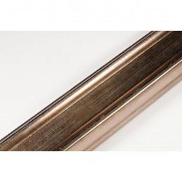 INK2557.773 40x30 - drewniana brąz metaliczna rama do obrazów i luster