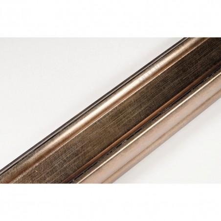 INK2557.773 40x30 - brązowa metaliczna rama do obrazów i luster