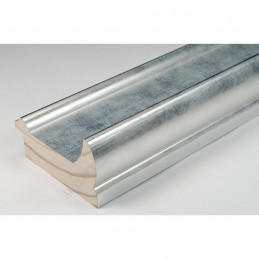 INK2558.653 70x30 - drewniana srebrna rama do obrazów i luster sample1