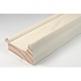 INK2558.486 70x30 - drewniana avorio rama do obrazów i luster sample1