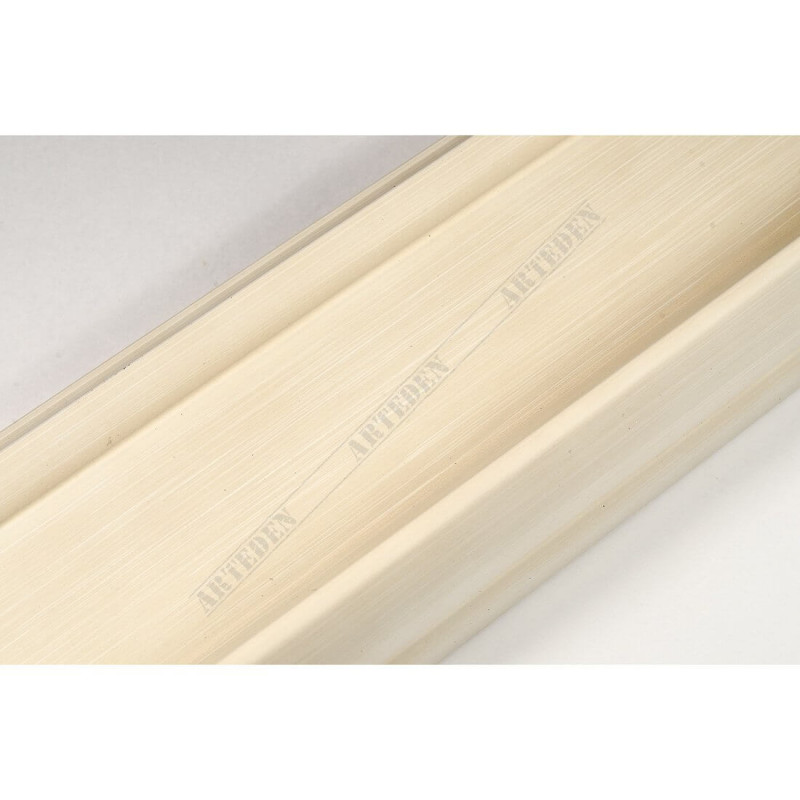 INK2558.486 70x30 - drewniana avorio rama do obrazów i luster