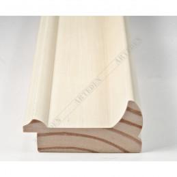 INK2558.486 70x30 - drewniana avorio rama do obrazów i luster sample