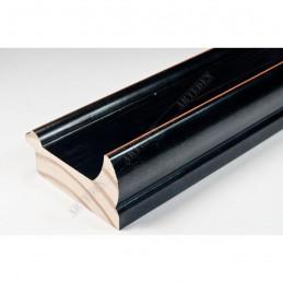 INK2558.471 70x30 - drewniana czarna rama do obrazów i luster sample1