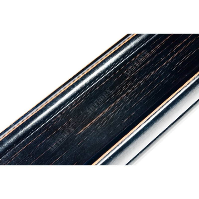 INK2558.471 70x30 - drewniana czarna rama do obrazów i luster